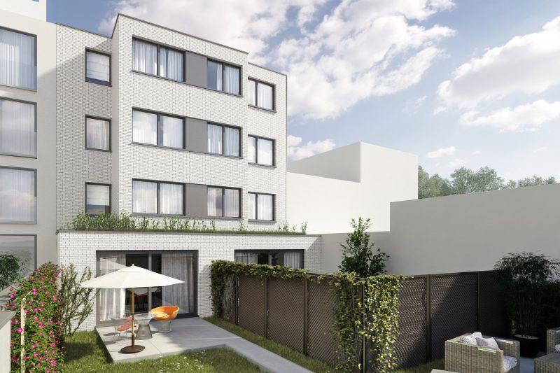 Gebouw met 8 appartementen