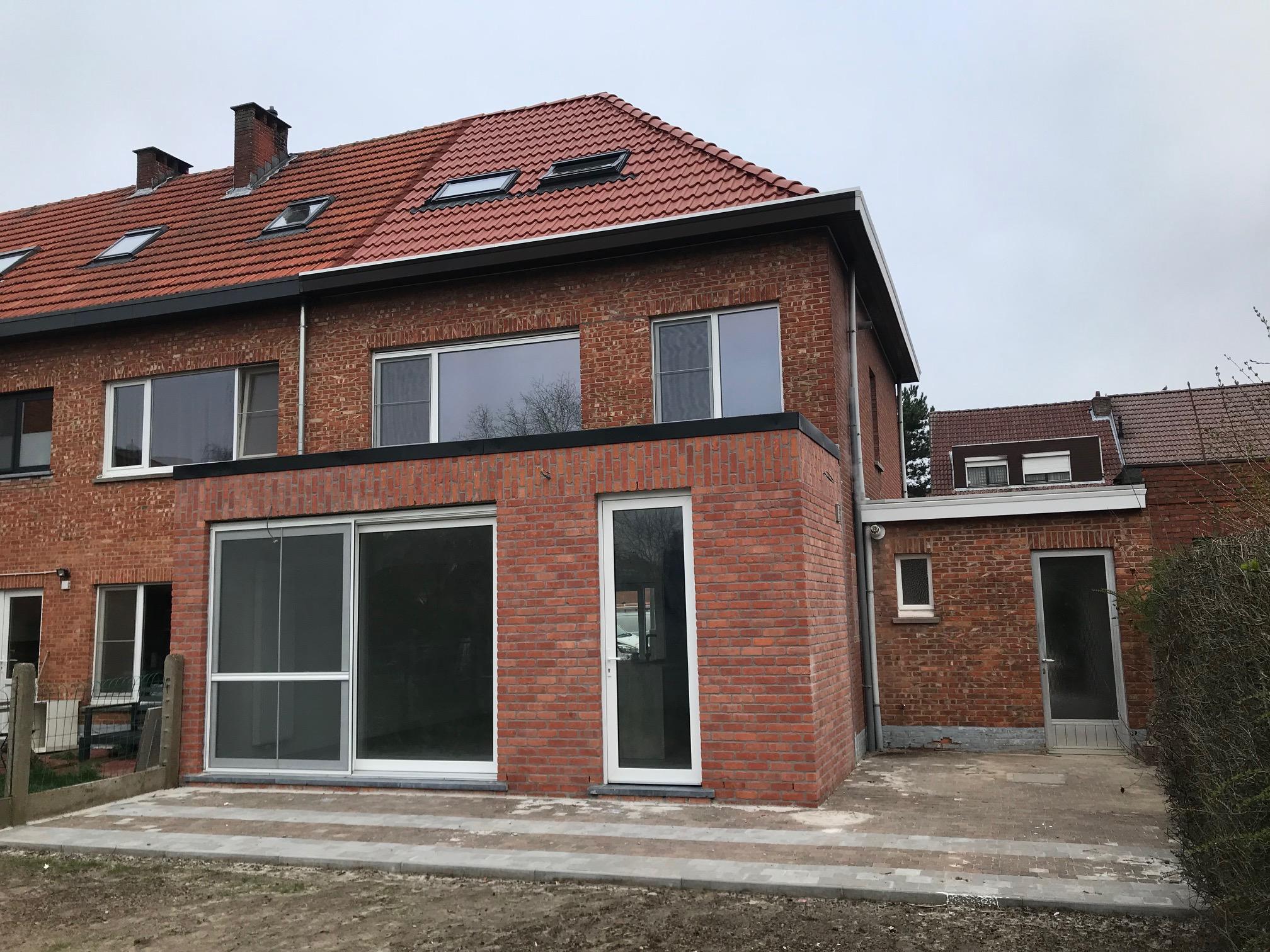Het huis na de verbouwing