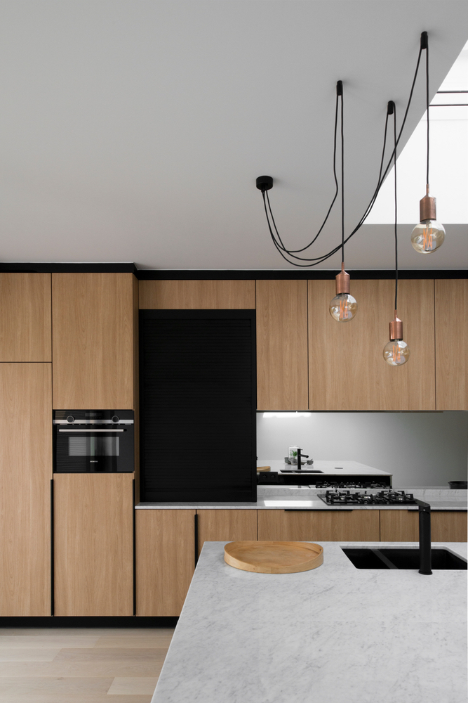 Keuken in hout