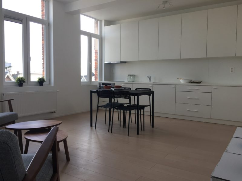 Verbouwing compact appartement